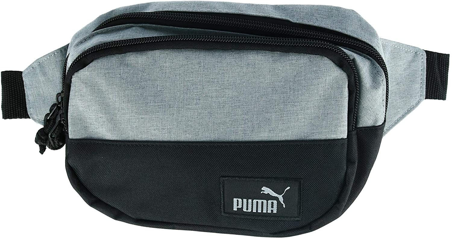 Puma - Fanny Pack - PSC1043 - One Size - Heather Light Grey/Black