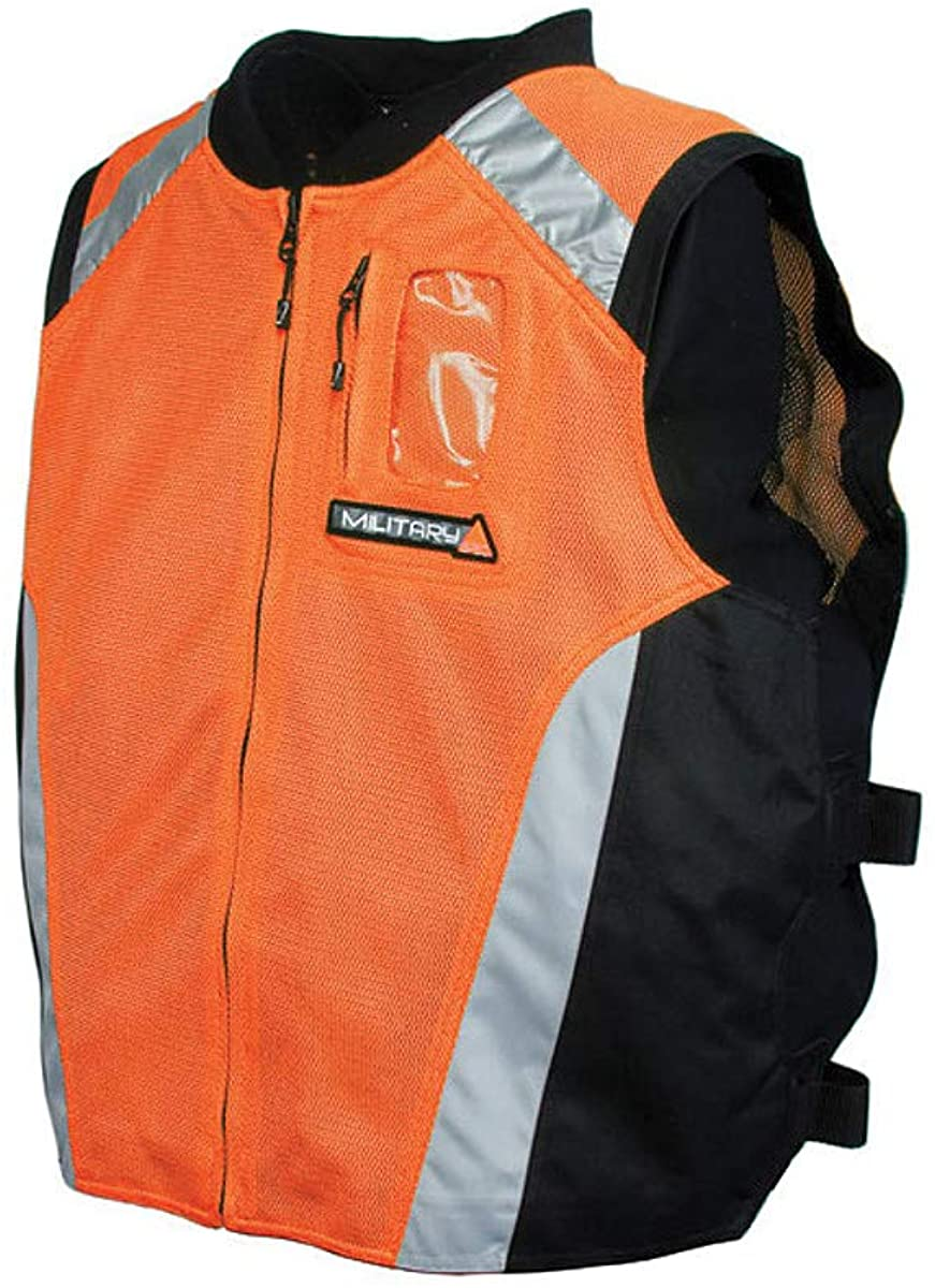 Joe Rocket Military Spec Vest (XX-Large/XXX-Large) (Orange)