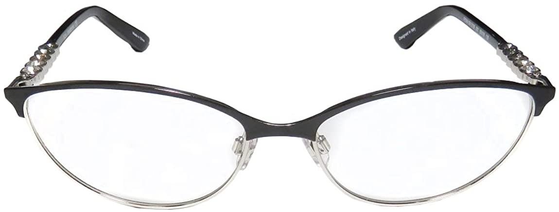 SWAROVSKI Eyeglasses SK5139 FIONA 001 Shiny Black