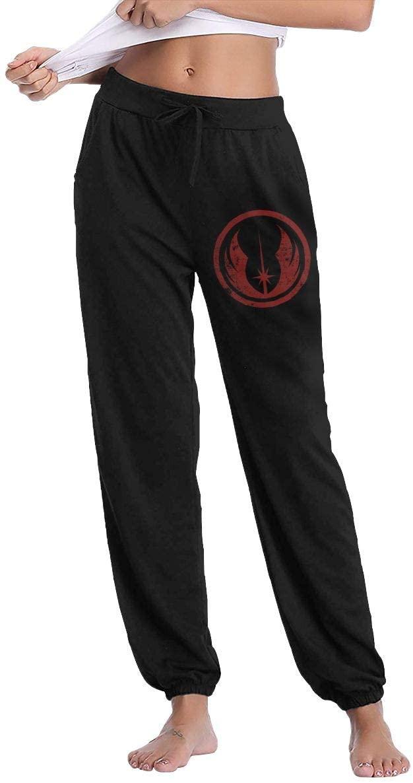 Awqule Jedi Order Ladies Sweatpants Drawstring Waist Jogging Pants with Pockets