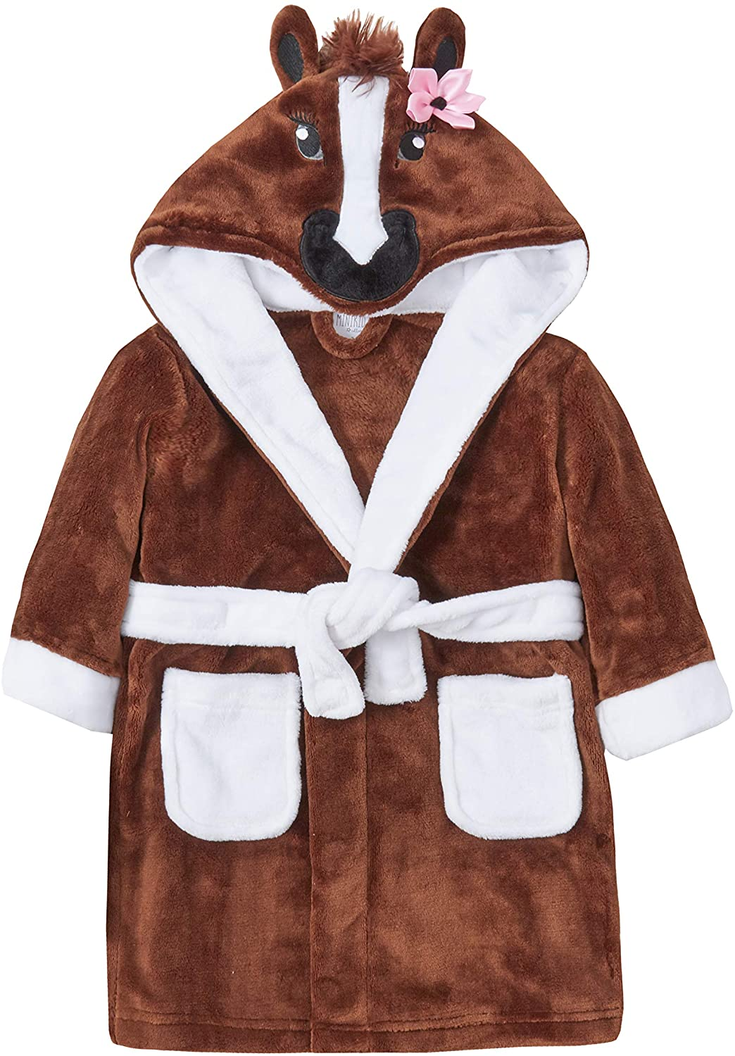 Childrens/Girls Novelty Horse Dressing Gown with Tail