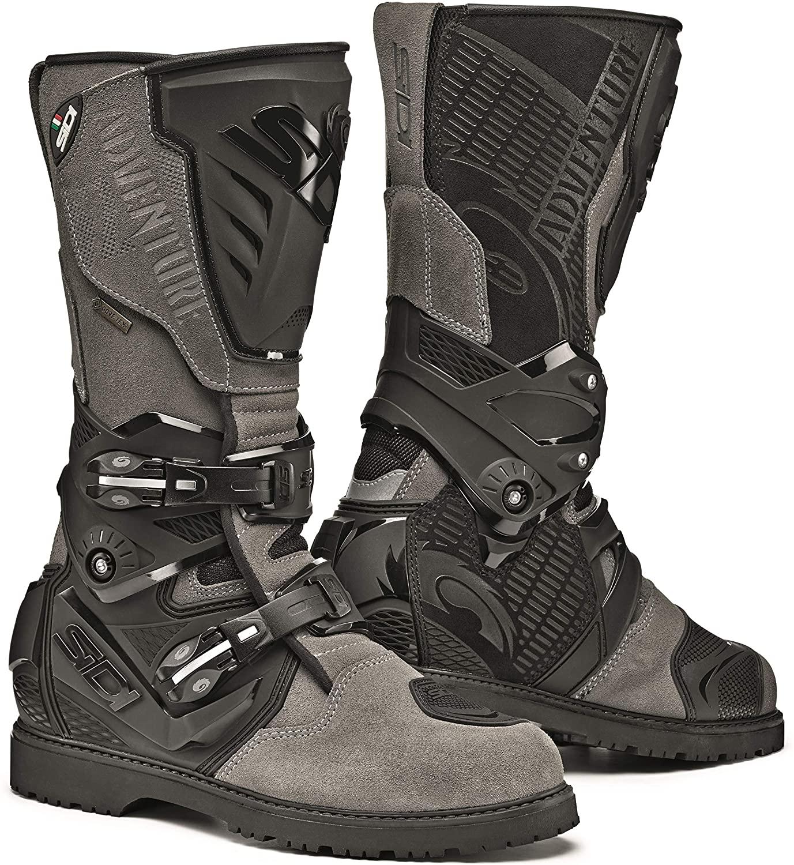 Sidi Adventure 2 Gore-Tex Motorcycle Boots (11/45, Grey)