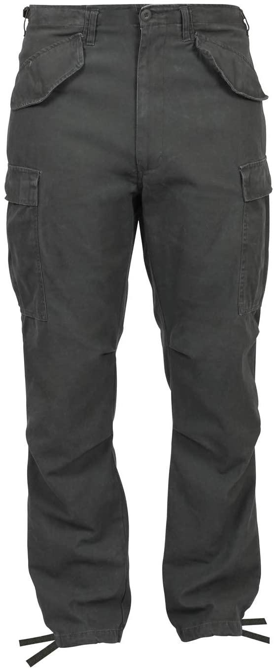 Rothco Vintage M-65 Field Pants, S, Olive Drab