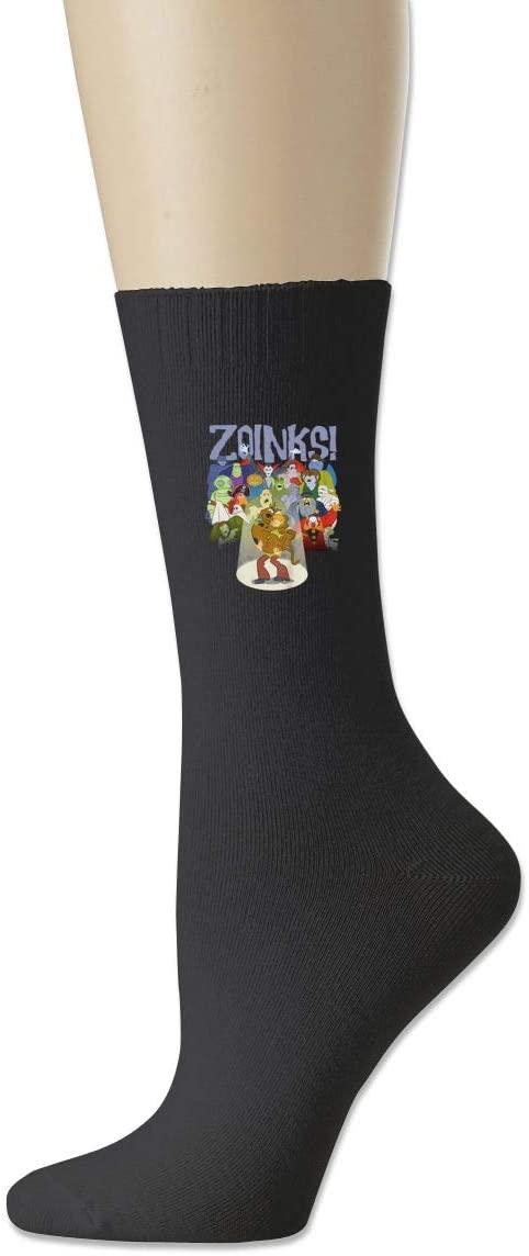 Heartsoul Scrubs Scooby-Doo and Zoinks Classic Socks Cotton Socks.
