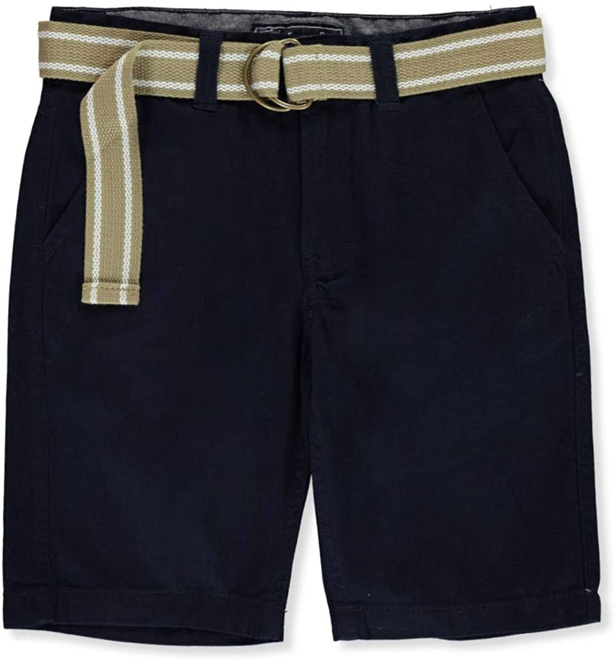 The Original J.A.C.H.S. Co. Little Boys' Twill Shorts - Navy, 4