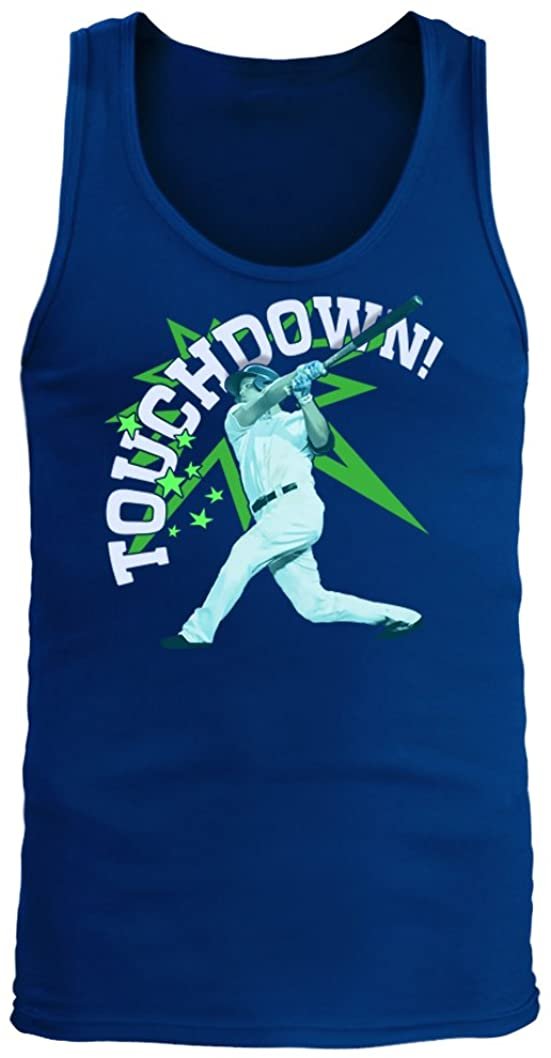 Middle of the Road Touchdown #354 - Adult Men's Tank Top