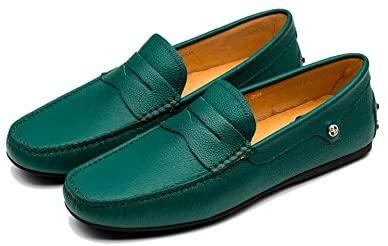 OPP Men's Casual Leather Fashion Slip