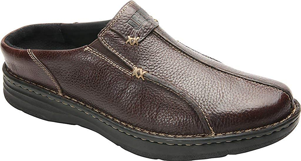 Drew Jackson Men's Slip On 10 2E US Brown