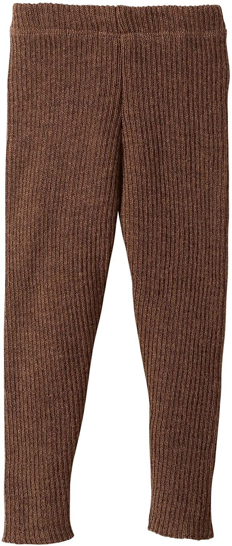 Disana 100% Organic Merino Wool Knitted Leggings Made in Germany (9-10 Years, Hazelnut)