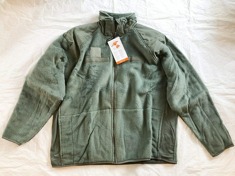 Usgi Gen III Sage Green Cold Weather Fleece Polartec Jakcet - Medium Regular