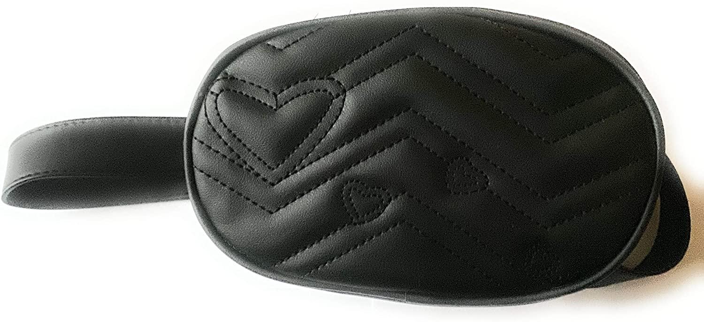 Women's Fanny Pack,Pure Color Leather Messenger Shoulder Chest Belt Bag by-NEWONESUN