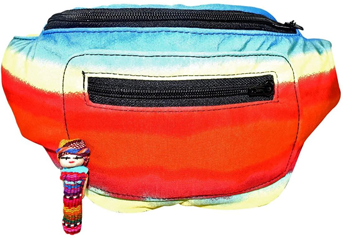 Horizon Fanny Pack, Hidden Pocket, Party, Boho Chic & Handmade