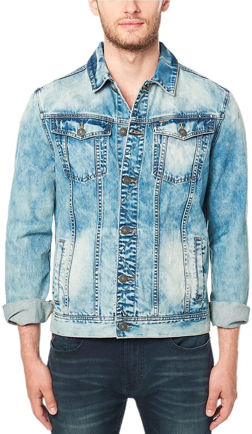 Buffalo David Bitton Men's Joe Denim Jacket BM20565
