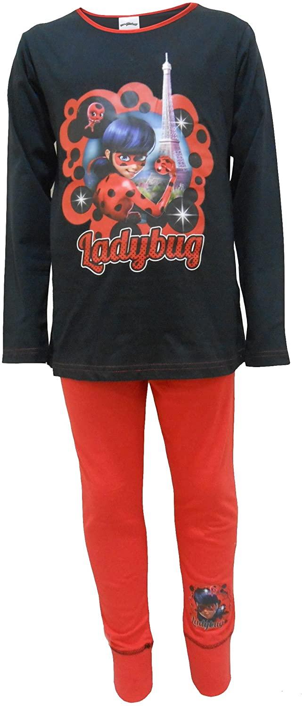 TDP Textiles Miraculous Ladybug Big Girls Pajama Set 2-Piece Pajamas