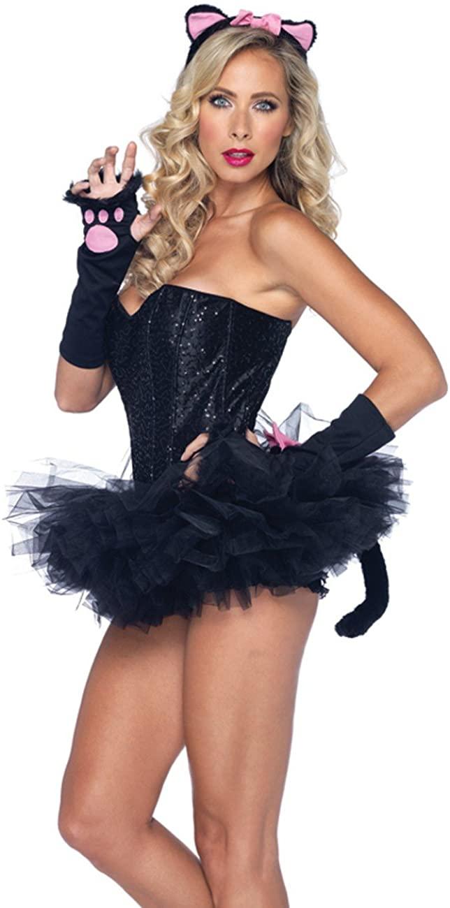 Leg Avenue Pretty Kitty Black Cat Costume Accessory