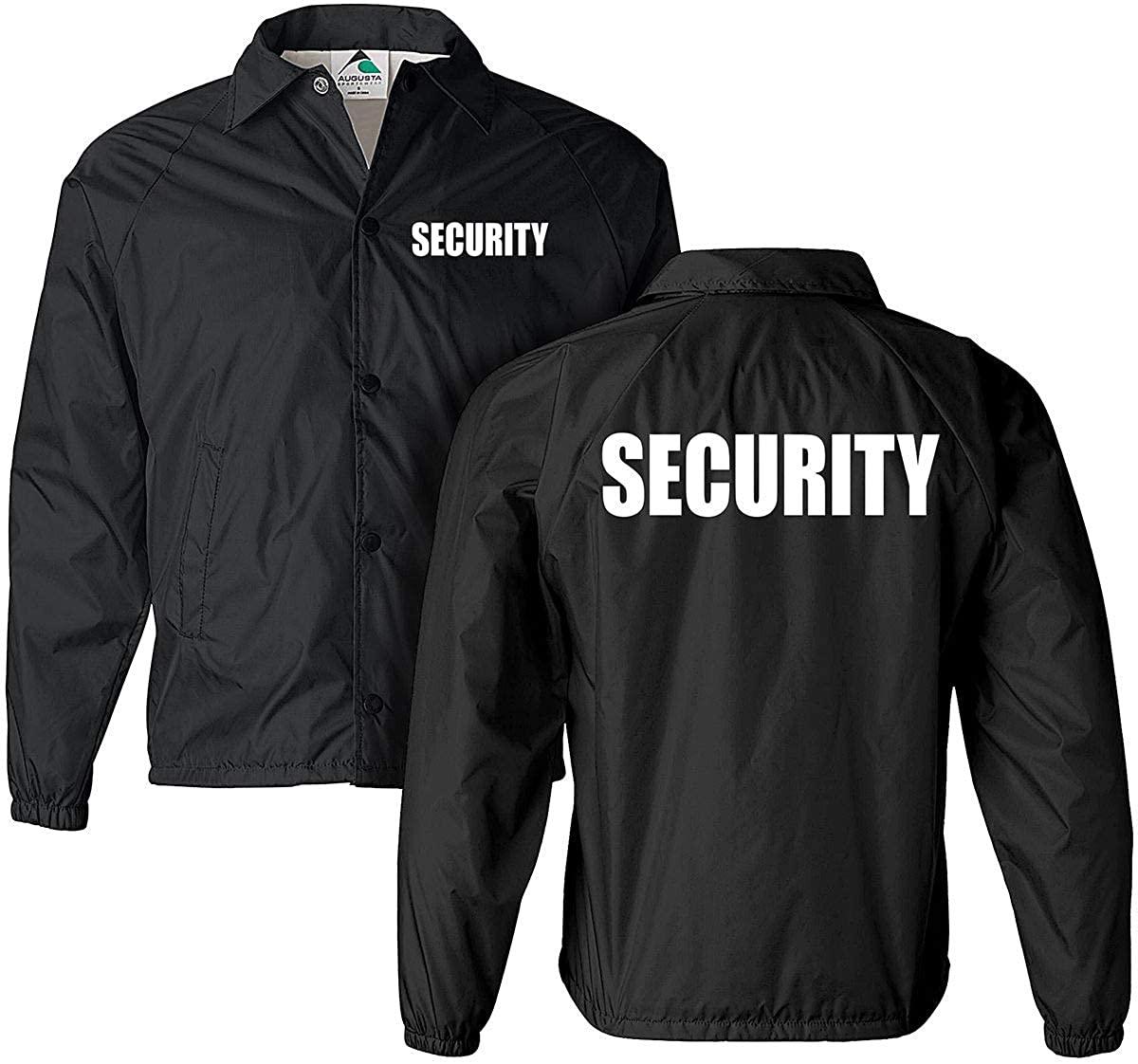 Smart People Clothing Security Jacket, Nylon, Security Guard Jacket, Law Enforcement, Windbreaker