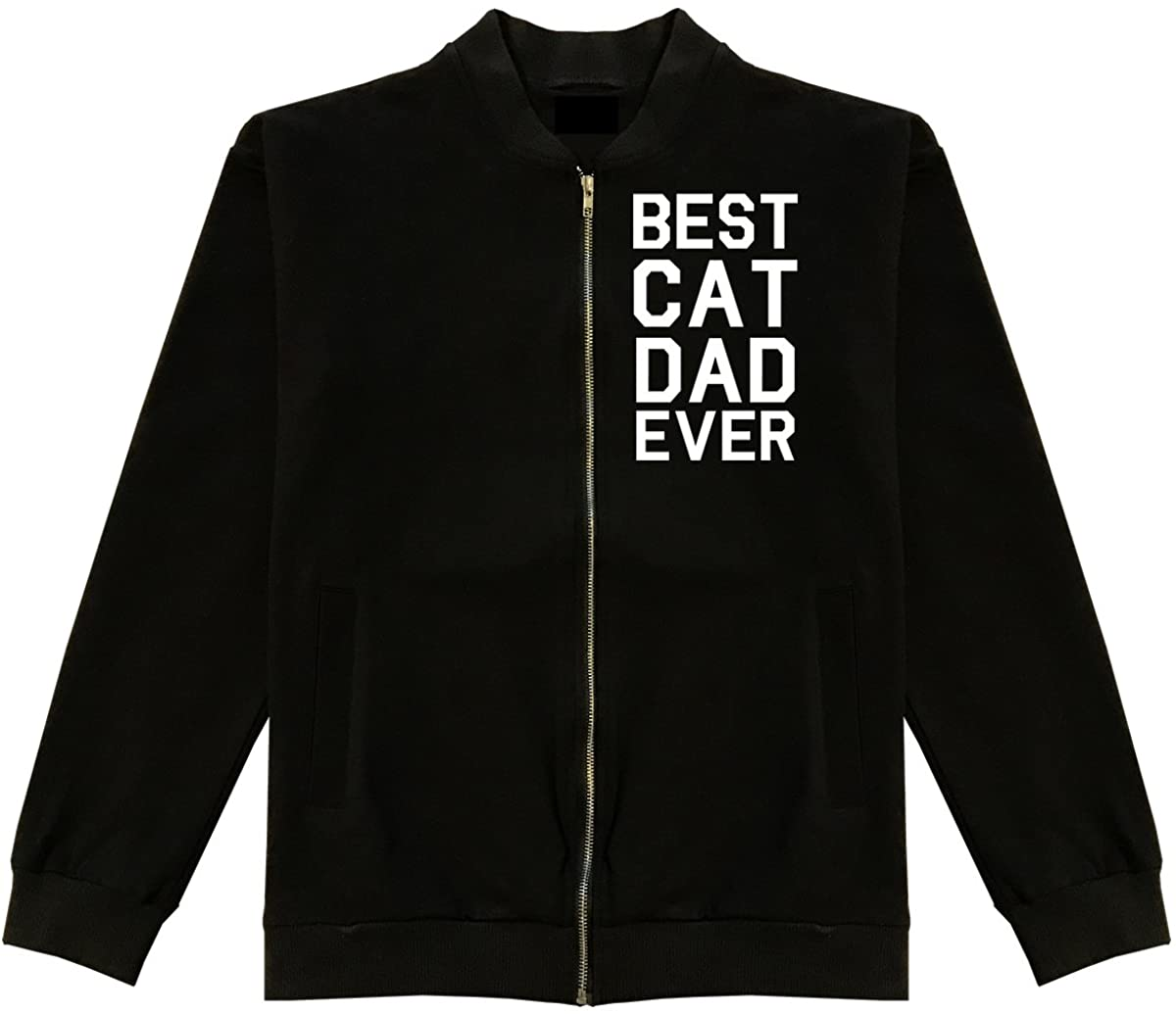 Best Cat Dad Ever Classic Bomber Jacket