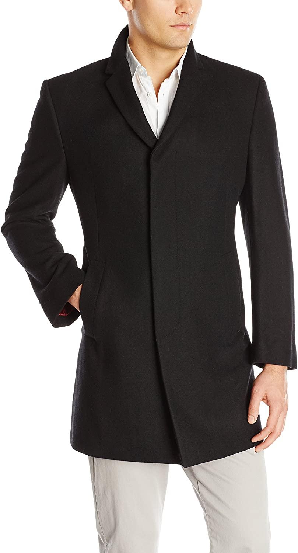 Kenneth Cole New York Men's Elan Wool Top Coat