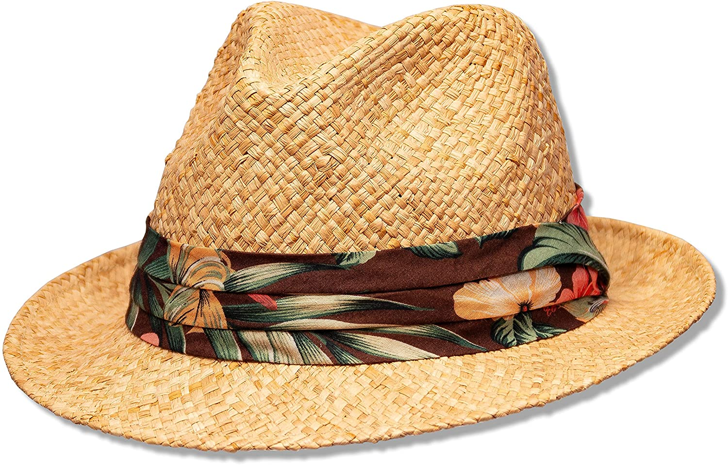 Saint Martin - Tropical Straw Fedora