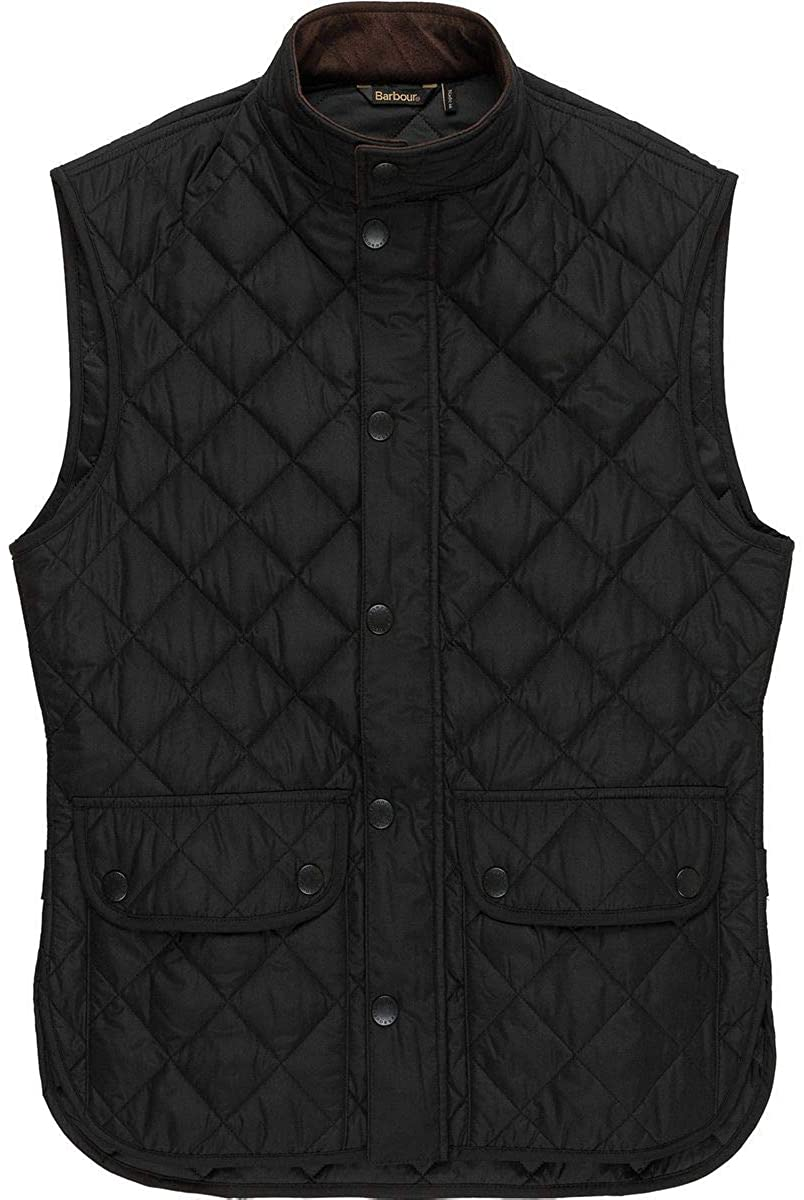 Barbour Lowerdale Quilted Vest (Black, XXL)