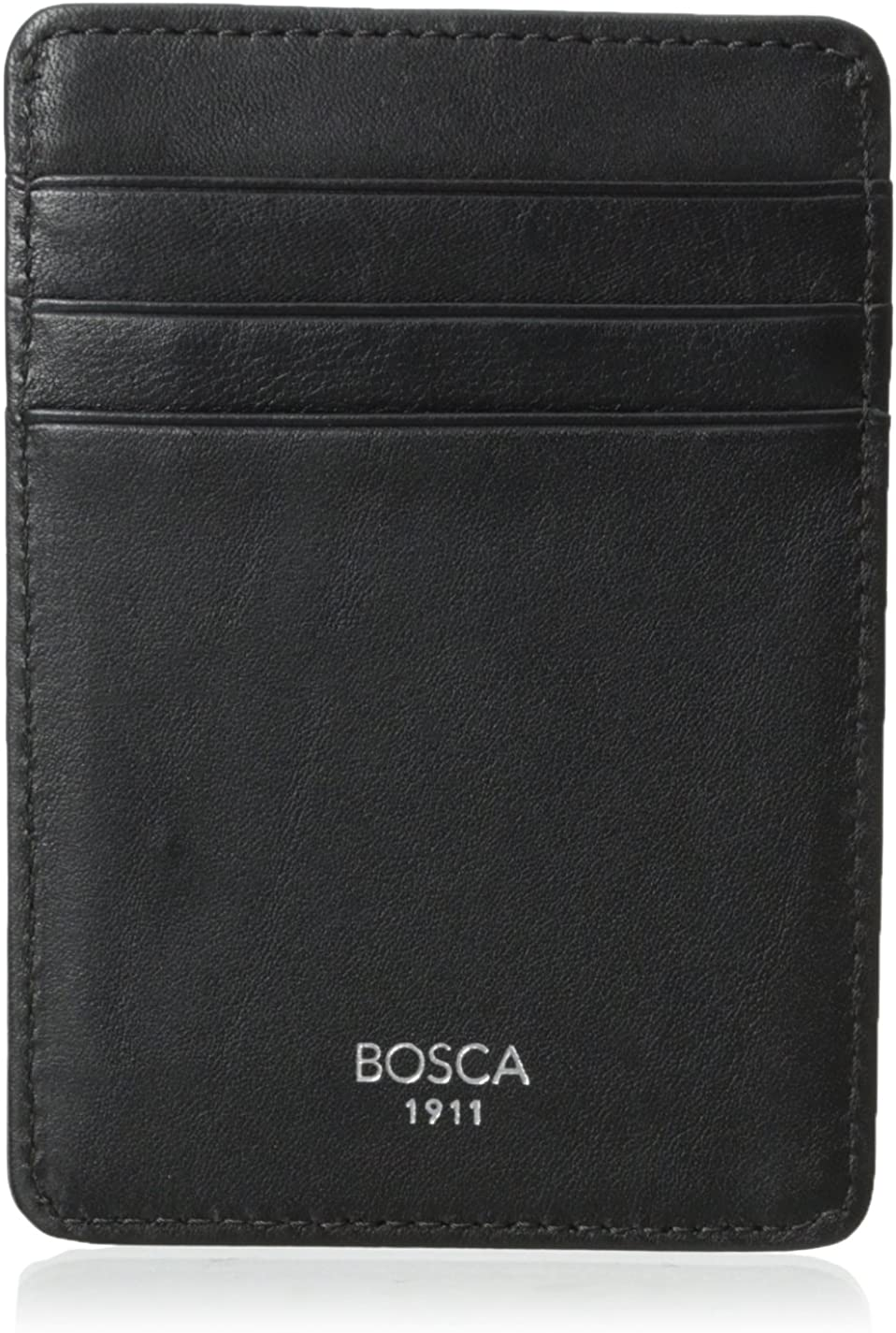 Bosca Men's Front Pocket Leather Wallet