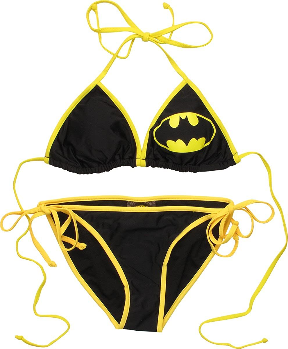 BATMAN Triangle String Bikini Swimsuit