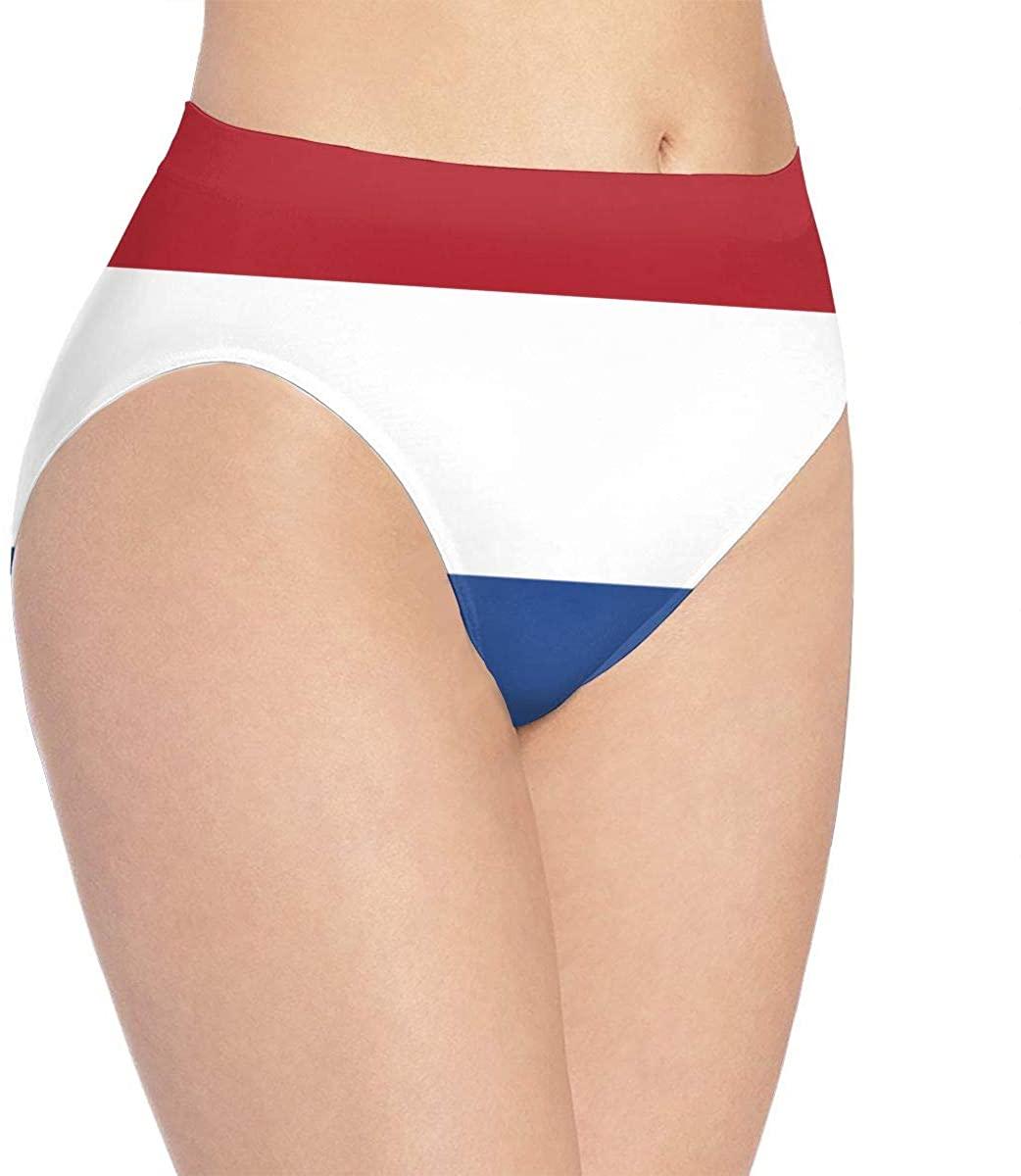 Flag of The Netherlands Women's Underwear Panties Sexy Briefs Underpants Knickers