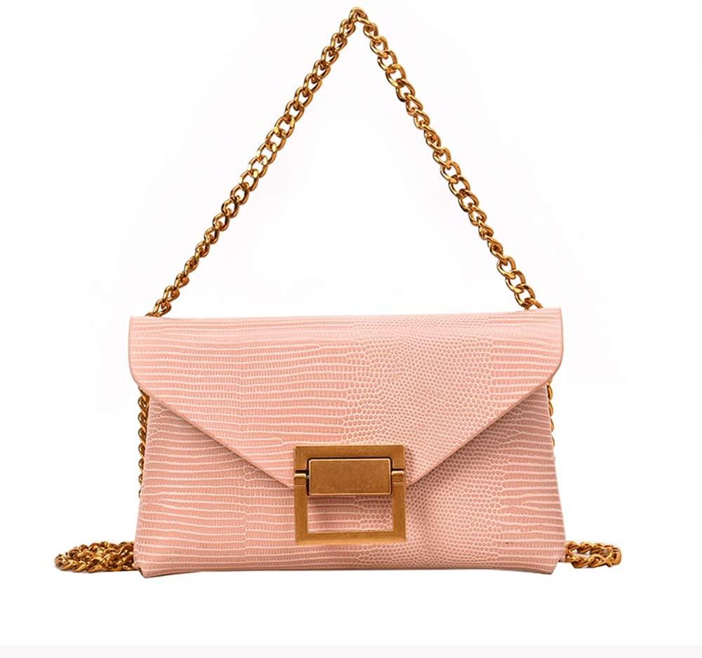 Luxury Pink Leather Fanny Pack Crossbody Wallet Purse Small Belt Purse Handbag