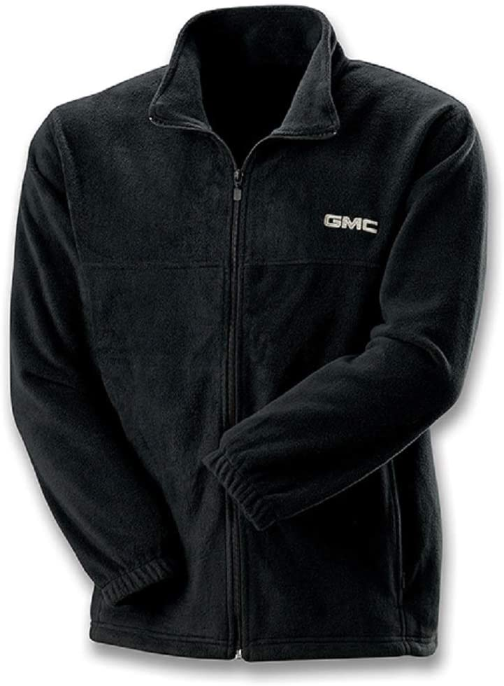 NOR GMC Black Full Zip Fleece Jacket (Large)