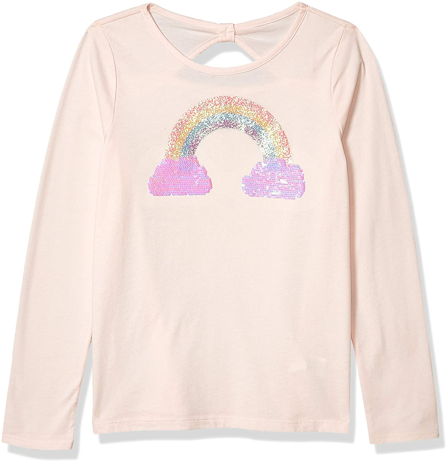 The Children's Place Girls' Long Sleeve Active Graphic Top