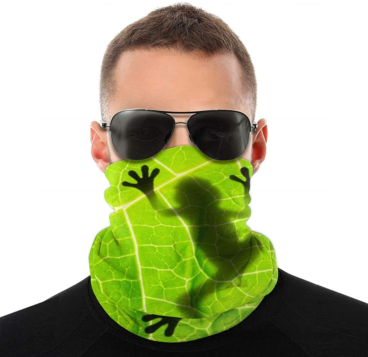 LOKIDVE Men's Blue Anchor Seamless Headscarf Sun Protection Neck Scarf Dustproof Balaclavas