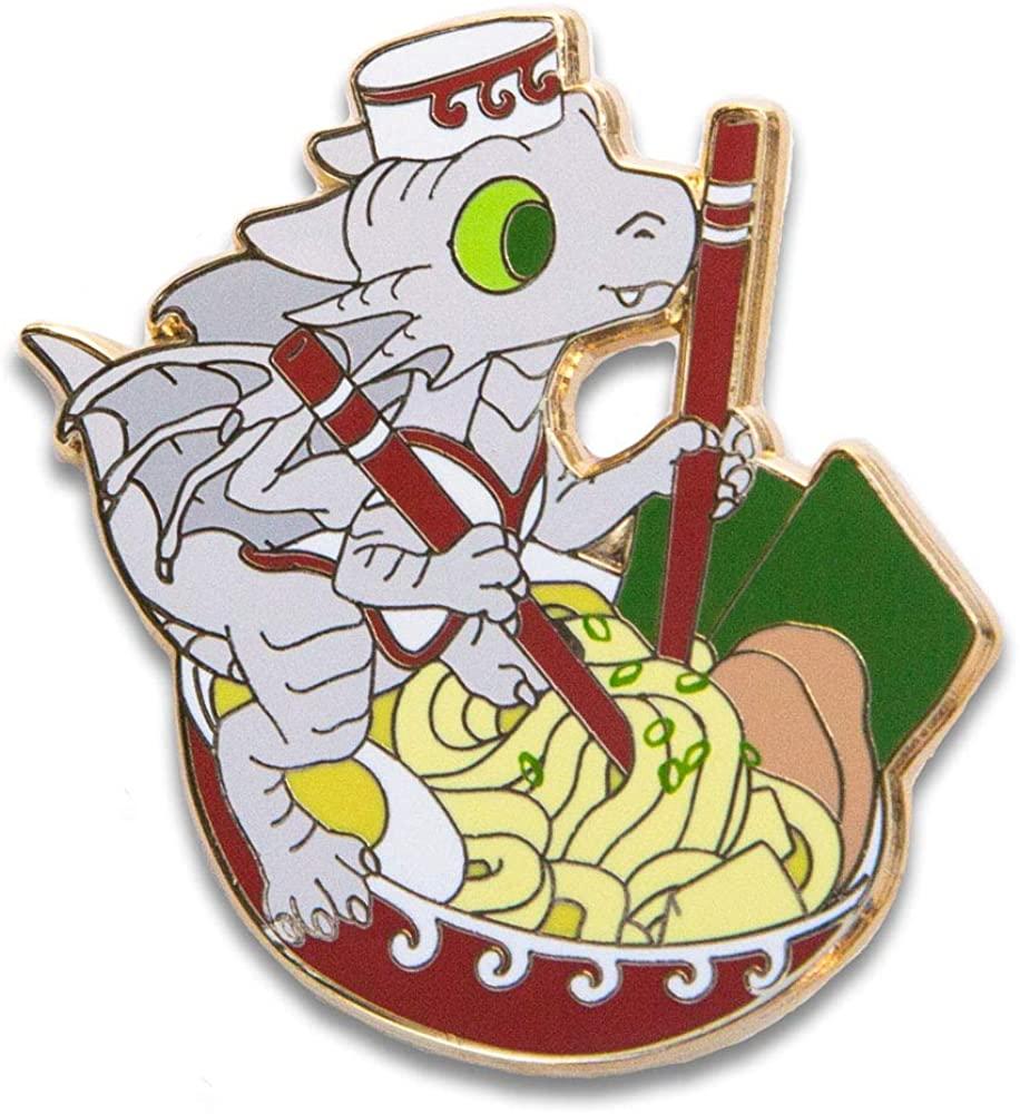 Ramen Chef Merfle Dragon Whelp Enamel Pin
