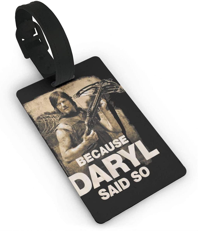 The Walking Dead Luggage Tagr Bag Tag
