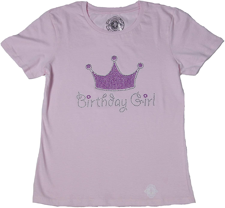Prayer Closet Girl's Birthday Girl Pink Tiara shirt