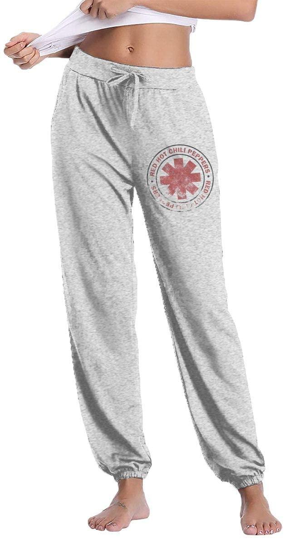 Reneealsip Hot Chili Sweatpants, Women's Autumn and Winter Trousers, Sports Loose Sweatpants