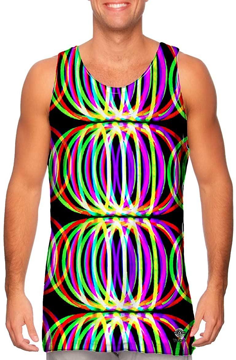 Yizzam-- Glowsticks Ball Globe -Tshirt- Mens Tank Top