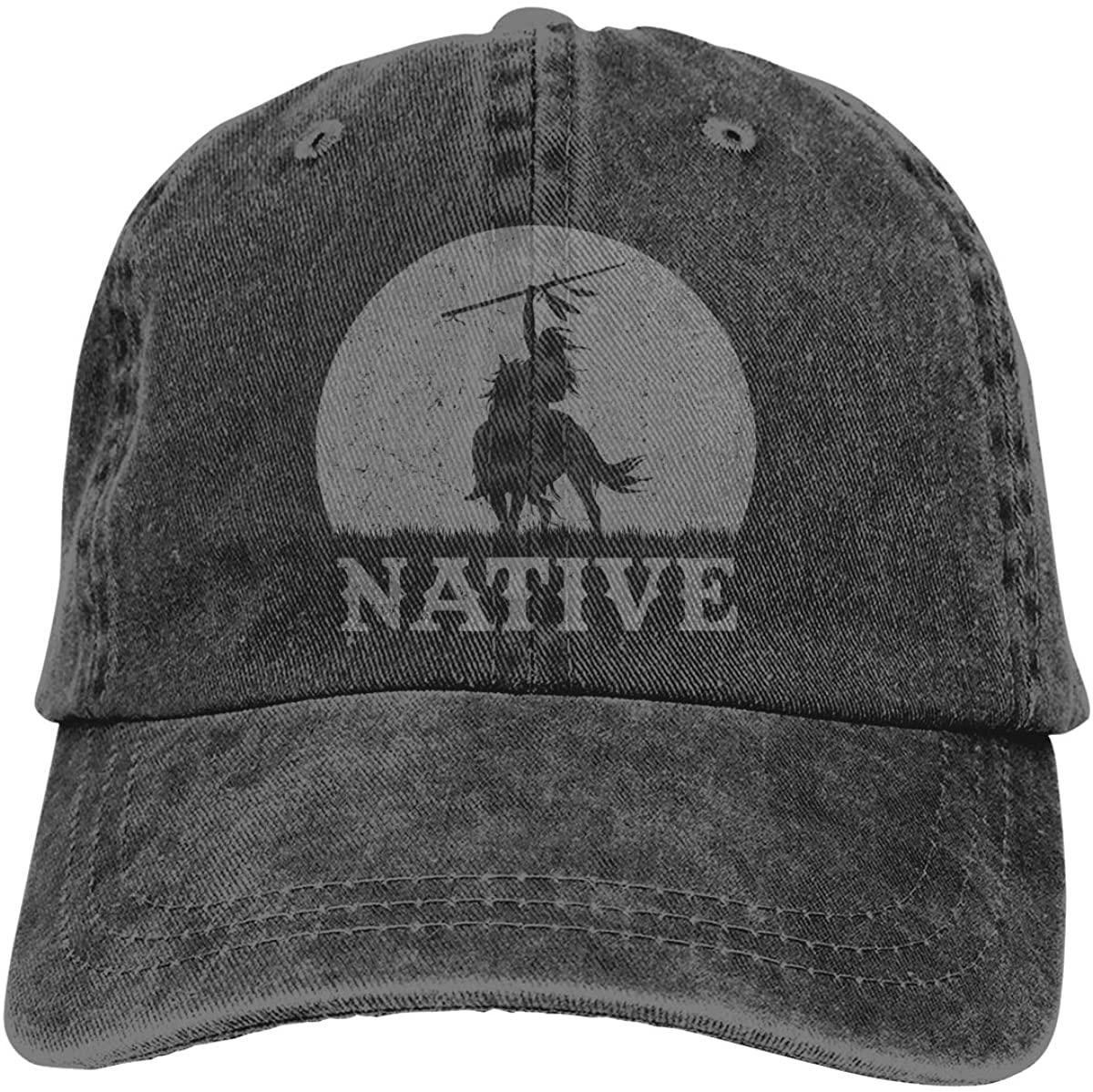 Native American Outdoor Sports Hat Adjustable Cowboy Hat