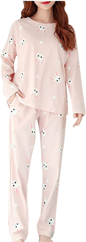 Big Girls Pajama Set Cute Panda Pattern Long Sleeve Children Sleepwear Nightwear Sets