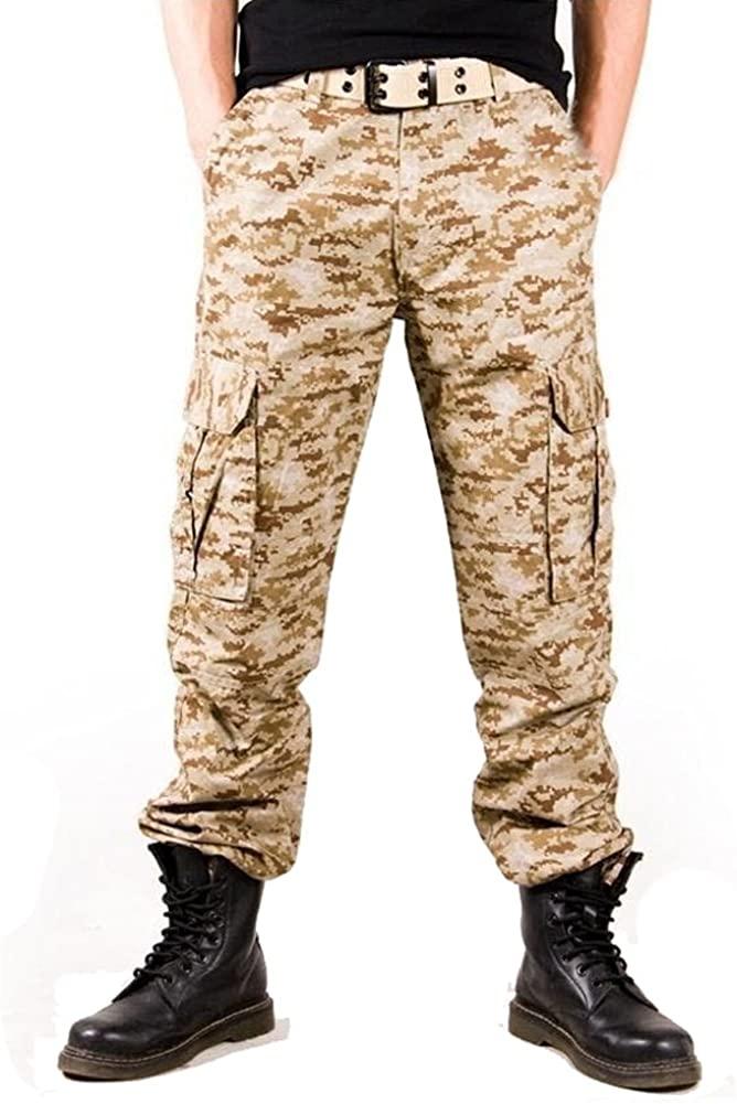 Tonwhar Men's Camouflage Hunting Cargo Pants