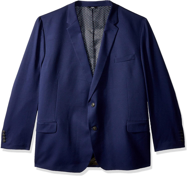 Haggar Men's Big & Tall B&t Active Series Stretch Classic Fit Suit Separate Coat