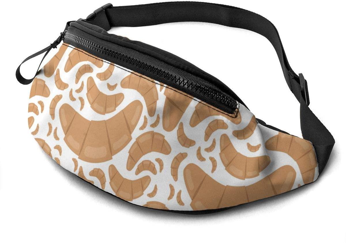 Croissant Fanny Pack Fashion Waist Bag