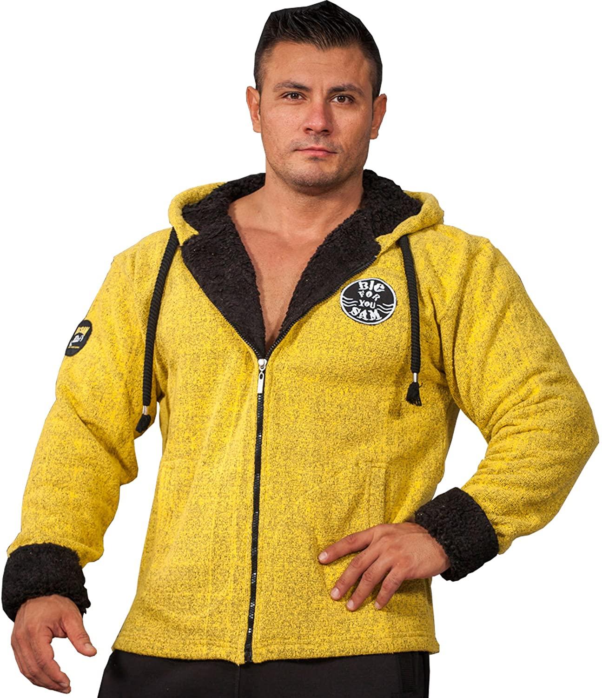 BIG SAM SPORTSWEAR COMPANY Bodybuilding Men's Jacket Winterjacket Coat Bomberjacket 4055