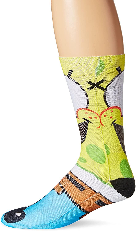 Odd Sox, Unisex, Nickelodeon, Spongebob Squarepants, Crew Socks, Cartoon Funny