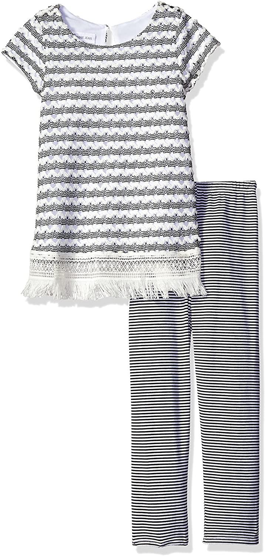 Short sleeve Dress and Legging Set