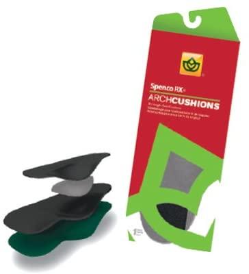 SPENCO RX Arch Cushions SPENCO Arch Cushions. Size: 4, Full Length, Women's; Shoe Size: 11-12, Men's:; 10-11