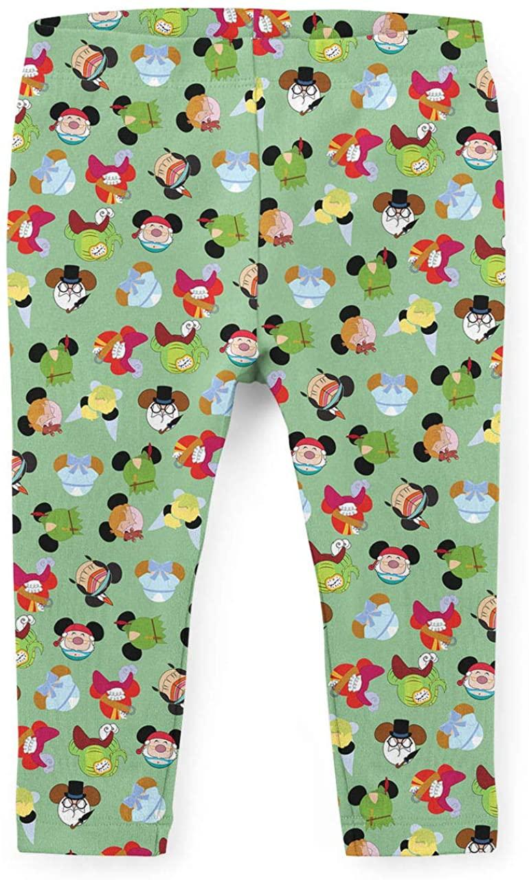 Youth Leggings - Peter Pan Mouse Ears Disney Inspired Green