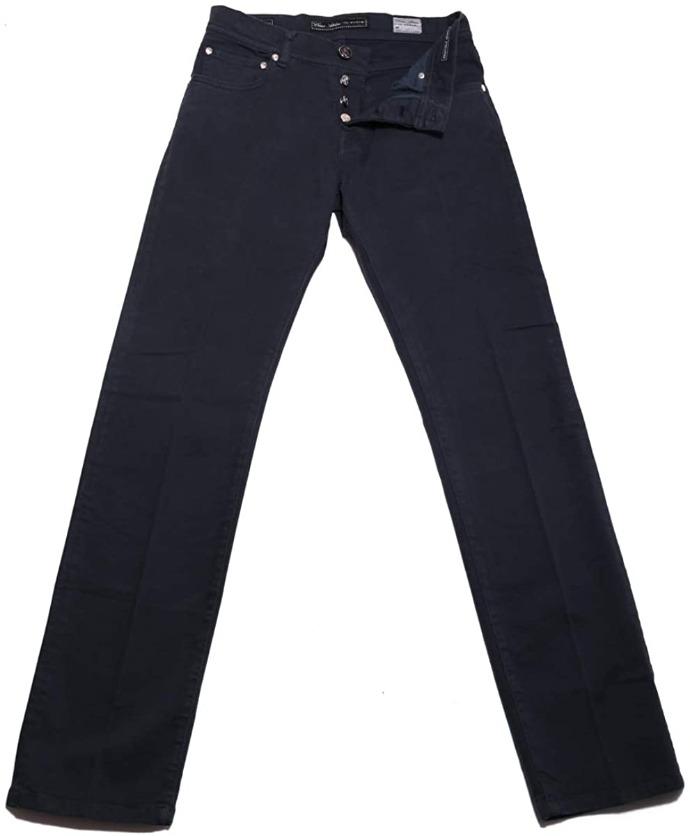 Cesare Attolini Denim Blue Jeans - Slim