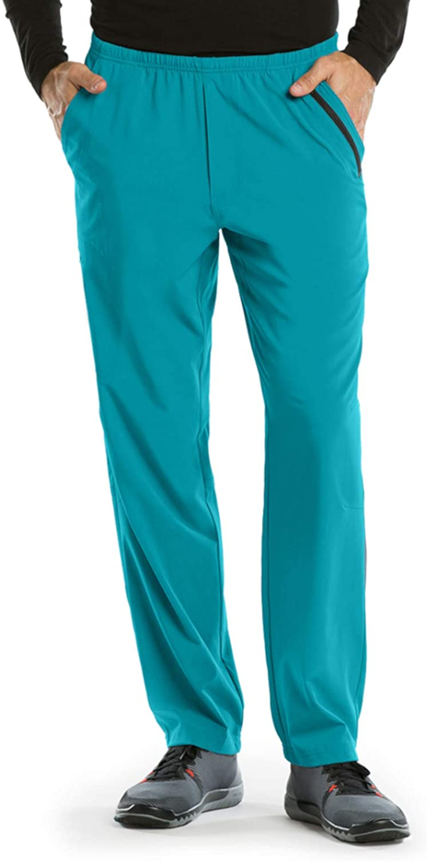 BARCO One 0217 Men's 7 Pocket Athletic Jog Scrub Pant Teal XS