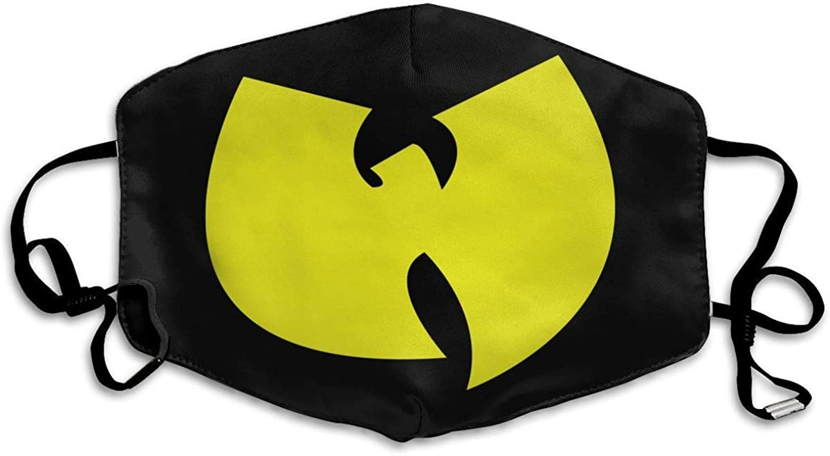 Wu-Tang Face Mouth Cover Comfy Breathable Reusable Face Covering
