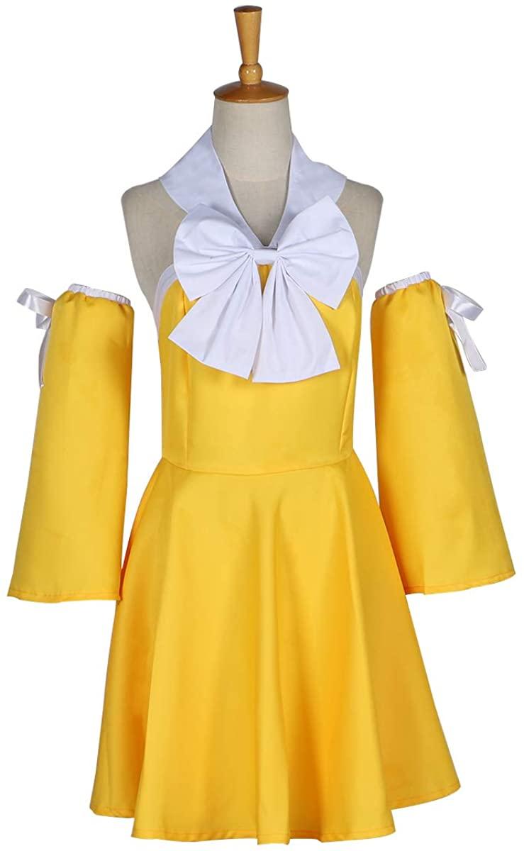 HOLRAN Fairy Tail Cosplay Levy McGarden Costume Anime Dress
